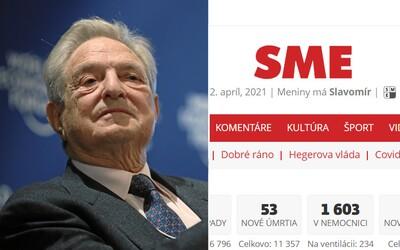Podiel vo vydavateľstve denníka SME odkúpil od Penty investičný fond spojený s Georgeom Sorosom.