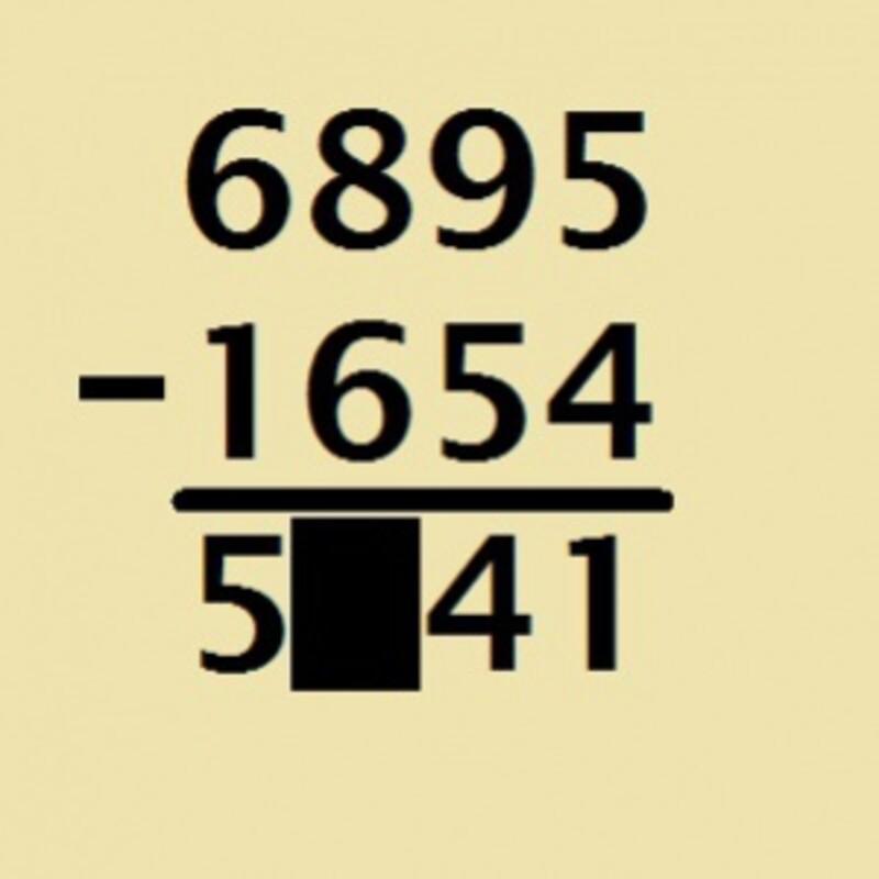 Ktoré číslo patrí do machuľe v príklade na obrázku?