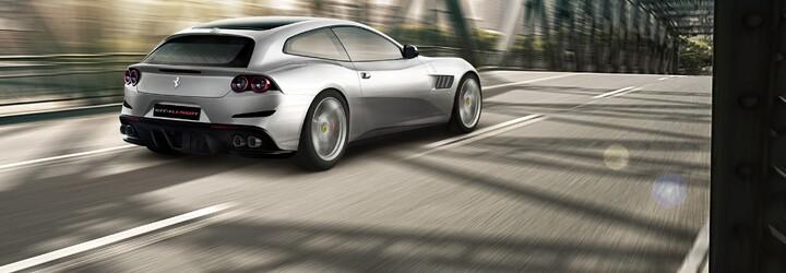 Ferrari opět podlehlo downsizingu, nástupce modelu FF přišel o pohon 4x4 a 6,3litrový dvanáctiválec