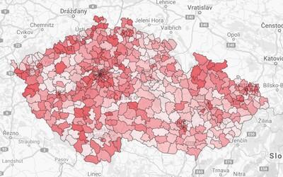 Mapa kriminality: Zjisti, kde a kolik trestných činů se stalo ve tvé obci. Nyní můžeš obce porovnat i mezi sebou.