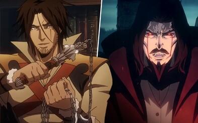 2. séria krvavej Castlevanie prináša úžasný svet príšer, upírov a veľkej genocídy rukami Draculu (Recenzia)