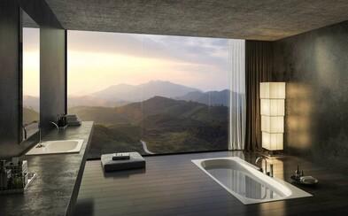 20 dokonalých kúpeľní, z ktorých by ste odmietali odísť aj po hodinách relaxácie