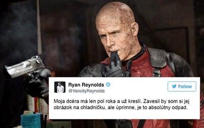 20 důvodů, tweetů, fotek a vtipů, díky kterým milujeme Ryana Reynoldse