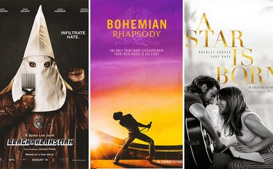 20 najlepších filmových plagátov roka 2018