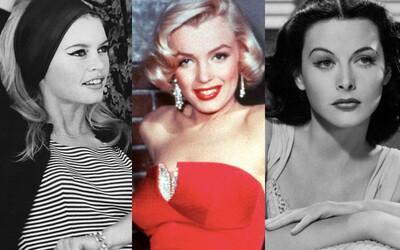20 nejkrásnějších hollywoodských hereček minulého století, které si získaly srdce milionů diváků