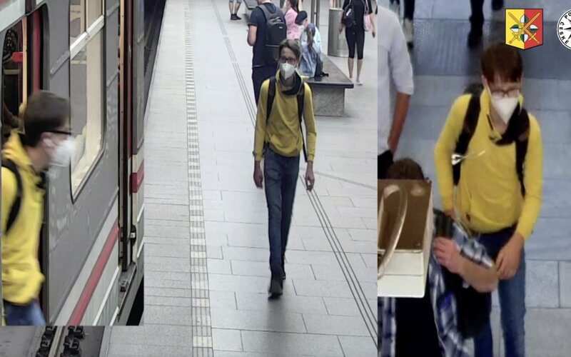 Policie pátrá po mladíkovi, který obtěžoval ženu v pražském metru. Je podezřelý z pokusu o znásilnění
