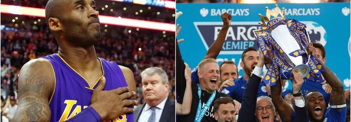 Rozprávka Leicestru či koniec kariéry Kobeho Bryanta. Rok 2016 bol plný pamätných športových momentov