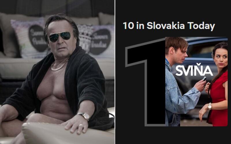 Sviňa valcuje Netflix. Film o mafii vo vysokej politike už je najsledovanejším titulom na Slovensku.