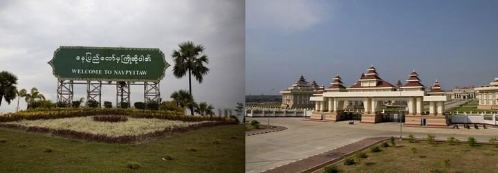 Neipyijto: Myanmarské město duchů s rozlohou větší než New York