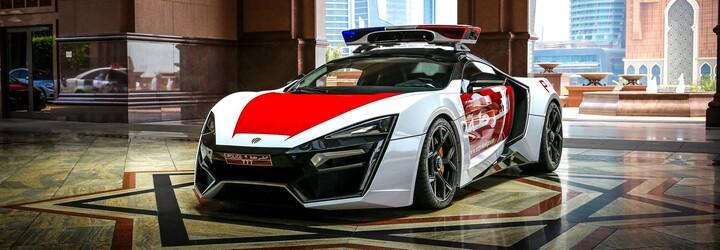 Dubajská policie hlásí další exkluzivní přírůstek, 750koňový Lykan Hypersport za 3,4 milionu $!