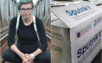 23-ročná Slovenka Žaneta nám porozprávala, prečo sa dala zaočkovať Sputnikom V: Robia z komára somára