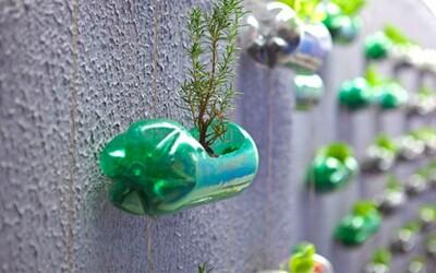 23 spôsobov, ako kreatívne využiť prázdne plastové fľaše