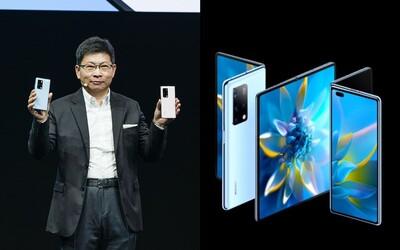 Huawei Mate X2 je tady. Změnil filozofii a má praktičtější otevírání jako kniha.