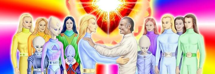 Aštar Šeran je můj nejlepší přítel, lidé jsou zotročení, říká zakladatel Vesmírných lidí