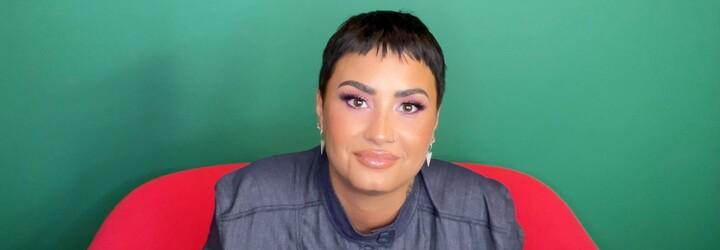 Demi Lovato se pochlubili fotkou z jejich první sexuální scény. Prý se na place cítili dobře