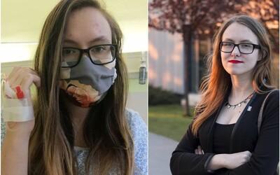 23letá Alexandra: Zlehčovala jsem koronavirus, teď trpím, jsem na hadičkách a nemůžu dýchat