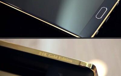 24-karátový Samsung Galaxy Note 4 - pretože 700 Eur za obyčajný bolo málo