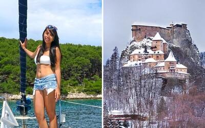 24-ročná Aileen cestuje naprieč celým svetom a vďaka internetovému podnikaniu zarába cez 5-tisíc eur. Nevynechala dokonca ani Oravský hrad!