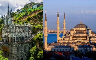 25 architektonických skvostů, které by měl každý navštívit. Lidé dokáží vytvořit dechberoucí stavby