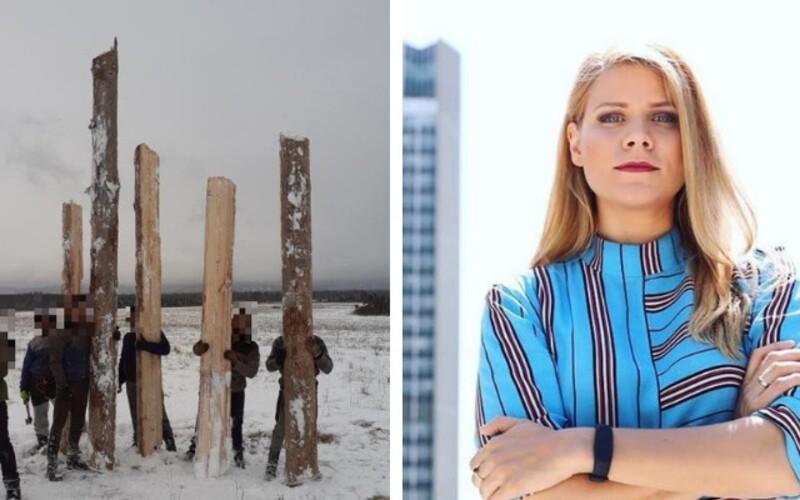 Slovenská polícia zadržala Rómov, ktorí údajne kradli drevo. Ide o fejsbučikový rasistický fotoshootig, odkazuje Kovačič Hanzelová.