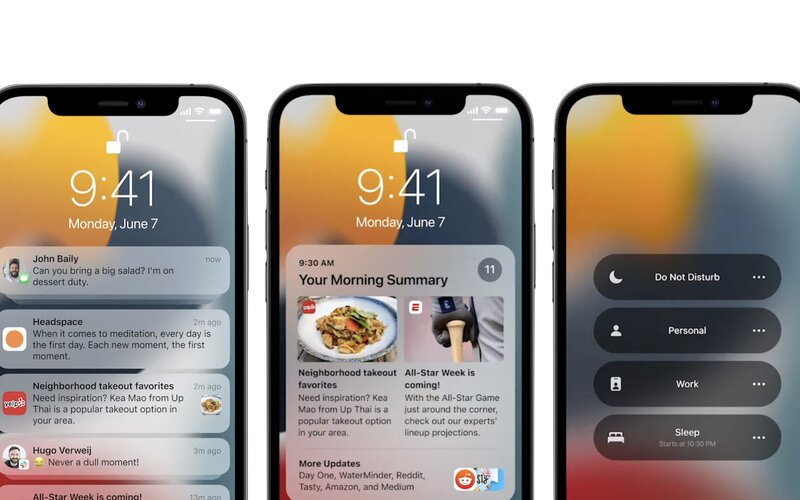 Apple představil nový iOS 15, watchOS 8 a MacOS Monterey. Uživatelé se mohou těšit na velké změny.