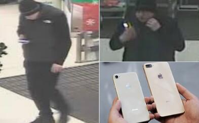 25letý muž kradl přímo v obchodech drahé telefony. Přišel si na 226 tisíc korun