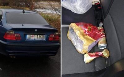 26-ročný vodič nafúkal takmer 5 promile. Pravdepodobne popíjal aj počas šoférovania