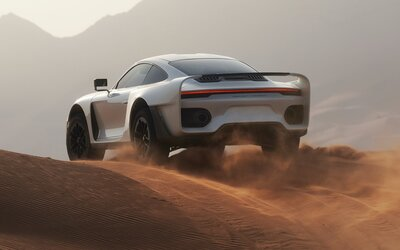 27-ročný mladík prerobil Porsche 911 Turbo S na 830-koňovú terénnu beštiu. Vznikne 40 kusov za pol milióna eur