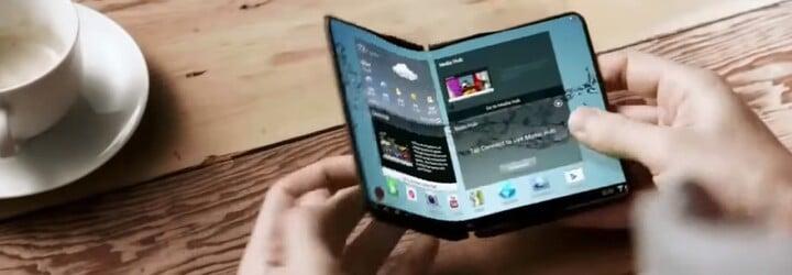 Samsung plánuje velkou revoluci. V příštím roce představí první smartphone, který lze složit jako papír