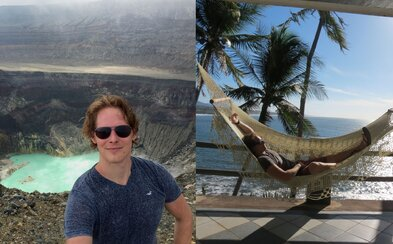 28letý Erik procestoval polovinu planety, nyní si žije svůj sen v Salvadoru. Nechybí party až do rána či sluncem zalité pláže (Rozhovor)