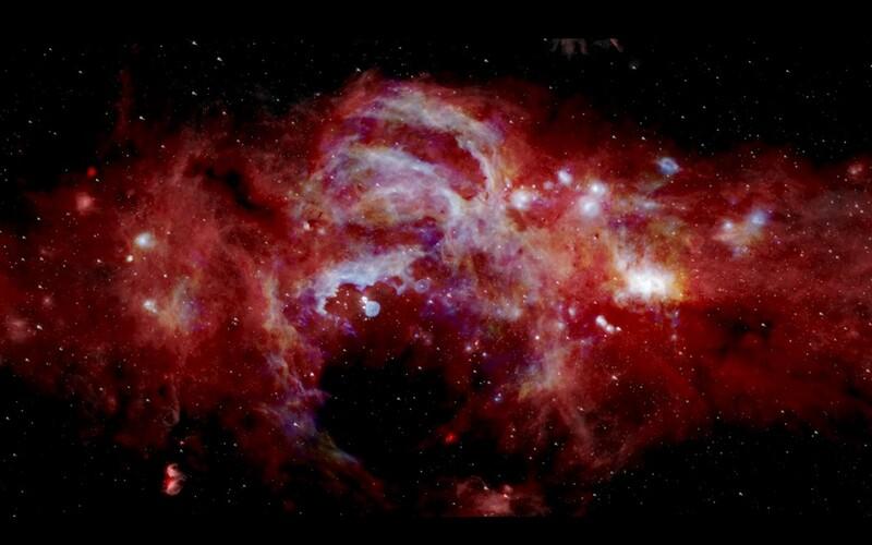 Vědci objevili obrovskou neznámou strukturu ve skrytých zákoutích vesmíru.