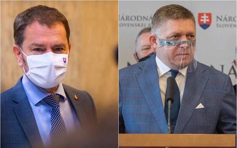 """Ficovi po zatýkaní sudcov """"stíska riťku"""", reaguje Matovič na avizované odvolávanie vlády."""