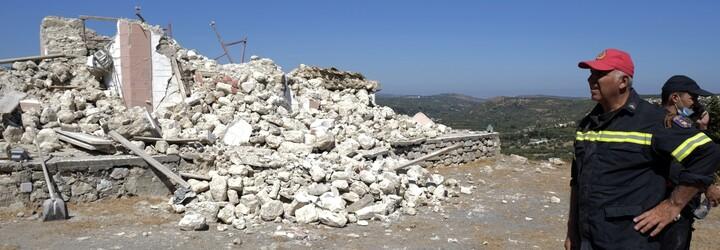 Kréta zaznamenala silné zemětřesení, nejméně jeden člověk zemřel