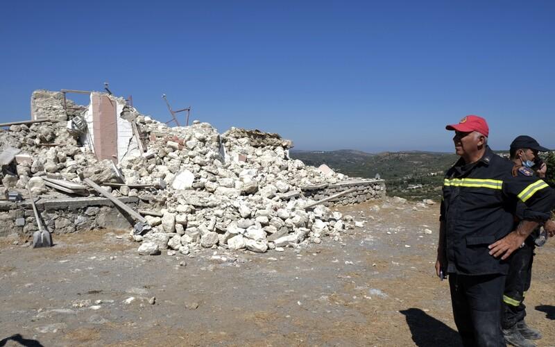 Kréta zaznamenala silné zemětřesení, nejméně jeden člověk zemřel.