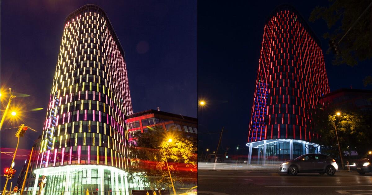 V Bratislave budeme ma svietiacu veu! Twin City Tower v