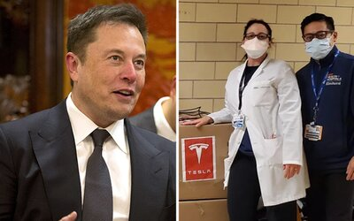 Elon Musk namiesto pľúcnej ventilácie rozdáva prístroj na poruchu spánku. Dokonca by vraj mohol napomôcť šíreniu vírusov.