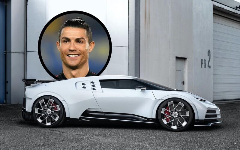Cristiano Ronaldo si koupil Bugatti za 217 milionů korun, které vznikne jen v 10 kusech.