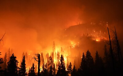 Dym z Kalifornských požiarov prišiel až na Slovensko. Bolo možné ho vidieť voľným okom.