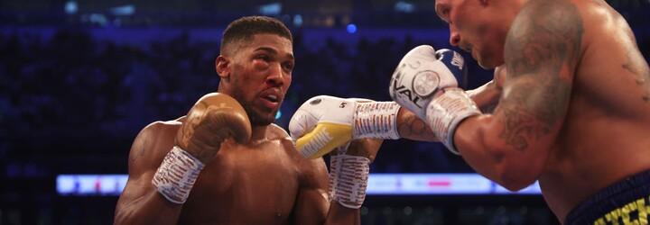 Král boxu Anthony Joshua padl, Ukrajinec Usyk ho obral o 4 šampionské pásy