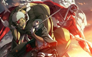 3. séria skvelého japonského anime Attack On Titan dorazí už budúci rok v lete. Navnaďte sa prvým plagátom
