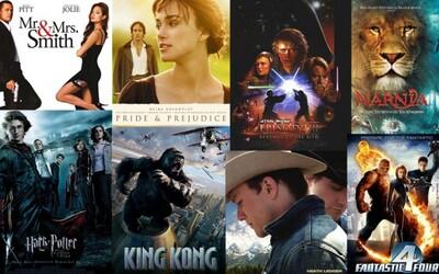 30 filmov, ktoré budú v roku 2015 prekvapivo oslavovať už 10. výročie