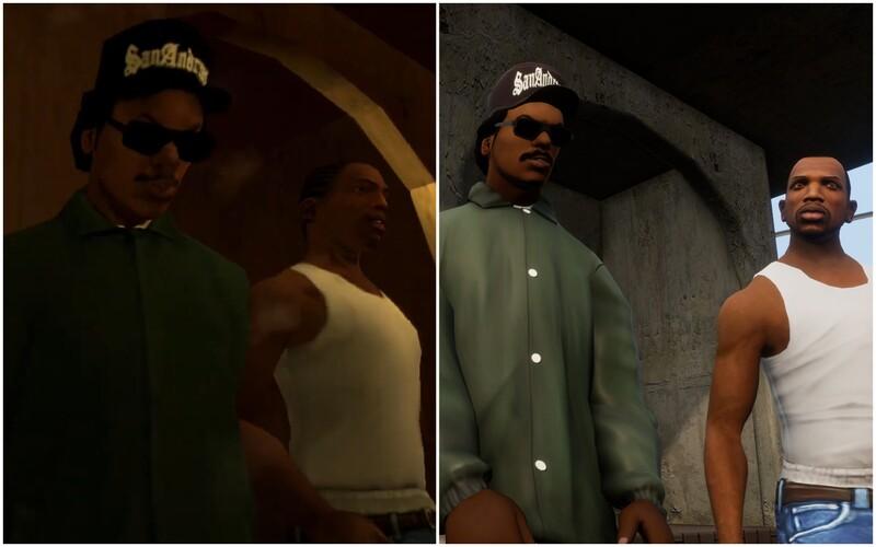 Remastrovaná trilógia GTA 3, Vice City a San Andreas je veľkým grafickým vylepšením. Ovládanie bude ako z GTA V.