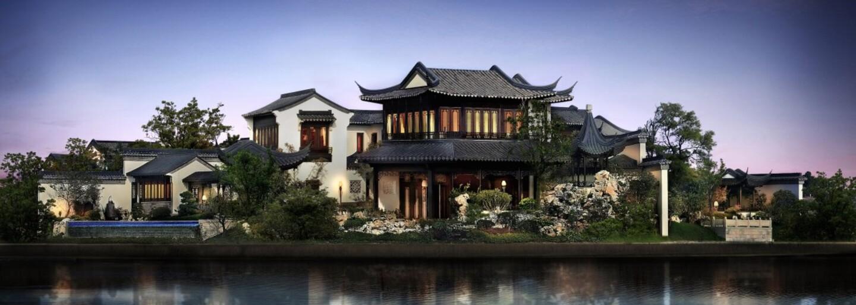 32 pokojů a vlastní vinný sklep. Nejdražší nemovitost, která se kdy v Číně prodala, vypadá zevnitř jako království