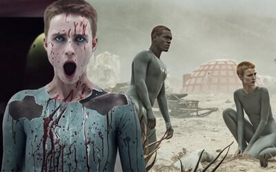 Ridley Scott natočil sci-fi seriál. Planeta je v budoucnu zničena válkou a roboti vychovávají uměle vypěstované lidi.