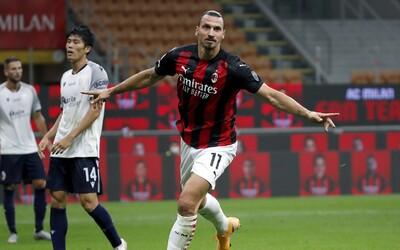 Zlatan Ibrahimovič měl pozitivní test na koronavirus. Zůstává v karanténě a vynechá nejbližší zápasy.