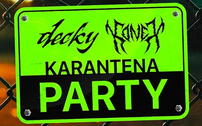 Milion Plus vydává Karantena Party EP. Hostují na něm Yzomandias, Nik Tendo, Viktor Sheen, Karlo a Hasan.
