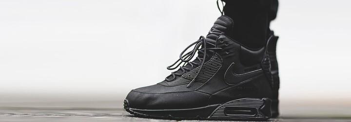 Nike Air Max 90 do zimy a sněhu pro všechny fanoušky sneakerboots