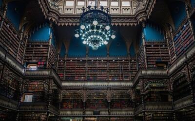 350 000 kníh v majestátnej knižnici z 19. storočia