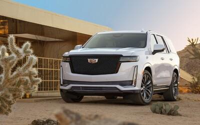 """36 reproduktorů či 38"""" OLED displej. Nový Cadillac Escalade symbolizuje americký luxus"""