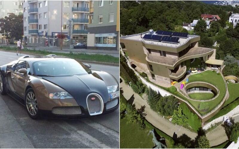 Bašternákovo Bugatti malo v jeho luxusnej vile pod Slavínom vlastnú izbu. Chválil sa ním pred hosťami.